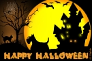 Scottish Terrier Halloween Grußkarte 001